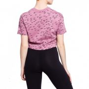 Nike Essential All-Over-Print Crop Top [AR6344-516]